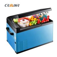 Buy cheap 12 Volt 45W Mini Car Refrigerator , Camping Electric Cool Box 570*360*335mm product