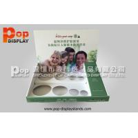 Buy quality PP Glossy Lamination Retail Counter Displays / Counter Top Display Stands For Bottles at wholesale prices
