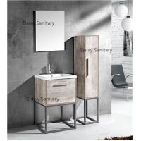 Buy cheap Modern MDF Bathroom Vanity Classic Waterproof Design With Side Cabinet product