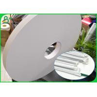 Buy cheap Waterproof 28gsm Food Garde Specialty Paper For Wrapping Drinking Straw Pipe product