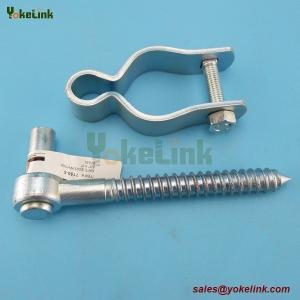China Chain Link Gate Frame Hinge - For Pipe Frames 1-7/8 Female Gate Hardware Hinge on sale