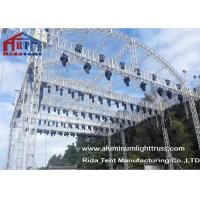 Buy cheap Arch Shape Aluminum Stage Truss , Outdoor Truss StructureTruss Display Systems product