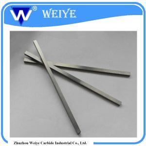 Buy cheap Durable Tungsten Bar Stock , High Standard Tungsten Carbide Flats product