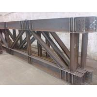 Buy cheap Truss Steel Buildings Lightweight , Prefabricated Steel Structures product