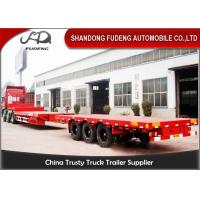 Buy cheap 15M - 25M Long Extendable Semi TrailerWind Blade Transportation Use product