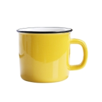 Buy cheap Mixed Color 350CC 12x8.5x8.2cm Personalised Ceramic Mugs product