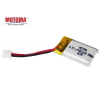 Buy cheap Mini Size Wearable Device Battery 3.7V 80mah With 1 Year Warranty product