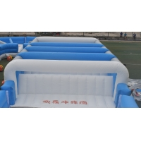 Buy cheap Inflatable obsatcle course for kids 70m length colorful inflatable obstacle course commercial inflatable obstacle course product
