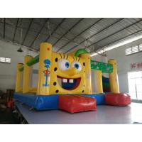 Buy cheap Professional Inflatable Jumping Castle PVC material 6x5x3m product
