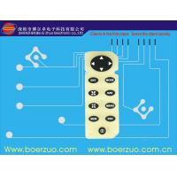 Buy cheap Flexible LED Tactile PCB Membrane Switch With Green Oil Printed product