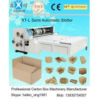 Buy cheap 3kw CE Joggling Chrome Chain Feeding Automatic XT-L Series Carton Slotting from wholesalers