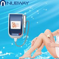 Buy quality Portable 12*20mm Diode Laser Hair Removal Machine Semiconductor Cooling system at wholesale prices