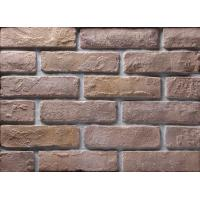 Buy cheap Decoration Wall Thin Veneer Brick , Antique Texture Fire Clay Bricks For Building product