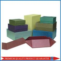 Buy cheap Rigid Gift Paper Packaging Box Made Of Rigid Chipboard Pasted Specialty Paper product