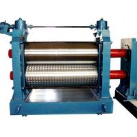 Buy cheap Automatic Aluminum Embossing Machine , Metal Embossing Machine 5.5KW 12m / min product