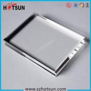 Buy cheap Wholesale high quality acrylic block, plexiglass block, logo block product