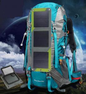 Solar Power Backpack Solar Charging Backpack Solar Bag