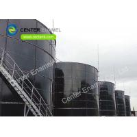 China Glass Fused To Steel Leachate Storage Tank For Municipal Wastewater Treatment Project on sale