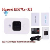 Buy cheap White Hotspot Wireless Router Unlocked Huawei E5577-321 3G 4G LTE Cat4 Mobile product