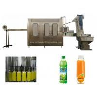 Buy cheap 3000BPH 2000ML 6kw Pet Bottle Juice Filling And Sealing Machine product