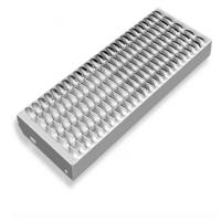 Buy cheap Perforated Galvanized Grip Strut Grating Stair Treads Non Slip Metal Sheet product