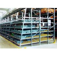 Buy cheap Industrial Pallet Live Racking / Gravity Flow Rack With Cold Rolled Steel Material product