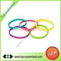 Hot sale !Silicone wristband with customized design