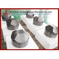 Hardness 90 HRA Tungsten Carbide anvil 6 Facet with CO 8% , WC content 92%