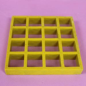 Buy cheap Anti Slip Molded Fiberglass Grating For Drain Cover , Pool & Deck Floor product