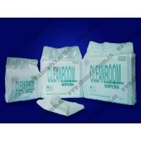 Buy cheap Cellulose/Polyester/Microfiber/Non-woven cleanroom paper wipes cleaning wiper product
