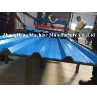 Quality IDT Rolling PANELS Roofing Sheet Roll Forming Machine 7.5kw Hydraulic Control for sale