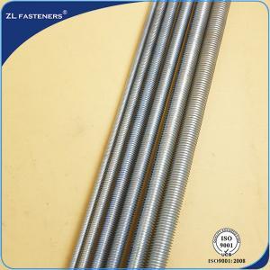 Buy cheap Zinc Plated Threaded Rod Din 976 , Carbon Steel Threaded Rod Din 975 product