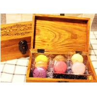 Buy cheap Solid  Handmade Wooden Tea Bag Box Colorful Lacquer With Compartments product