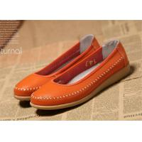 Buy cheap New design Flat shoes women natural leather ladies flats soft shoes product
