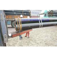 Buy cheap ASTM A106 Hot Rolled Seamless Steel Pipe / Tube For Construction Material product