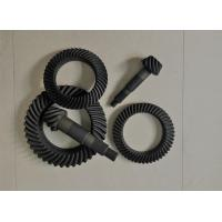 Buy cheap High Performance Spiral Bevel And Pinion Gear Anti - Oil Carburizing Heat Treatment product