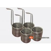 Buy cheap Stainless Steel Tube Heat Exchanger / Immersion Coil Heat Exchanger For Mariculture product