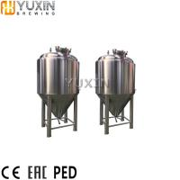 Buy cheap 500L 1000L 2000L Mini Stainless steel beer fermenter for Sale product