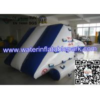 Buy cheap Blue White Inflatable Iceberg With Blob / Inflatable Water Games For Kids , Children product