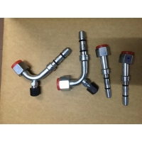 Buy cheap Thermo King Transport refrigeration R404a Air Conditioning fittings Truck Refrigerant R404a A/C hose steel fittings product