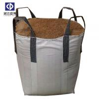 Quality 4 Cross Corner Loops Super Sacks Bags For Building Sand 1000KGS 100% Virgin for sale