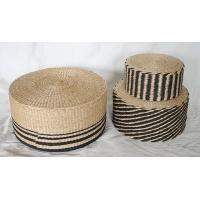Buy cheap Paper pouf, cylindrical pouf, black &brown color design, made in China product