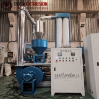 Buy cheap Plastic PVC WPC SPC 8MM Pulverizer Grinder Machine from wholesalers
