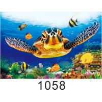 Buy cheap High Definition 3D Lenticular Pictures Gloss Or Matte Varnish Surface from wholesalers