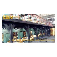 Buy cheap 17 mm Brass Rod Continuous Upcaster Line Brass Casting Equipment 400KW AC 380V product
