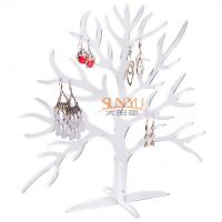 Buy cheap Acrylic Display Stand Earring Jewelry Holder Countertop Holds10 Pairs Tree Shaped product