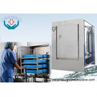 Buy cheap Mechanical Hinge Single Door Pharmaceutical Autoclave With 0.2μm Membrane Type Air Filter product