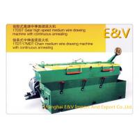 Buy cheap Four Axis Horizontal Copper Fine Wire Drawing Machine With Flip Up Security Door product