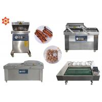 Buy cheap DZ-1100 Continous Vacuum Food Packaging Sealing Equipment For Rice / Meat product