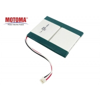 Buy cheap 7.4V 1650mAh Lithium Ion Batteries For Medical Devices Deep Cycle product